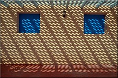 shadows on the wall (mhobl) Tags: shadows patterns morocco maroc sidiifni hingebröselt