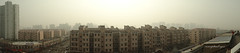 Rooftop Panorama 2 (rolandrain) Tags: china sky panorama rooftop weather haze shanghai quality air cybershot aqi pm25