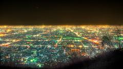 Our Square (Ryusuke Komori) Tags: mountain japan night  osaka nara  ikoma