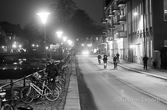Bikes, bikes and bikes (A.Sundell) Tags: bw 50mm blackwhite pentax sweden bokeh swedish uppsala sverige traveling smc nifty the svartvit f17 5017 smca50mmf17 a pentaxk5 thetravelingnifty50mm