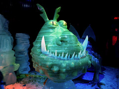 Ice Dragon (ClikSnap) Tags: venetian macau iceworld macao gm1 panasonicgm1