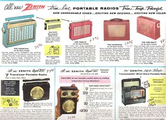 ZENITH Radio Dealer Folder (USA 1956)_04 (MarkAmsterdam) Tags: old classic sign metal museum radio vintage advertising design early tv portable colorful fifties arm tsf mark ad tube battery engineering pickup retro advertisement collection plastic equipment deck tape changer electronics era record handheld sheet catalog booklet collectible portfolio recorder eames sales electrical atomic brochure console folder tone forties fernseher sixties transistor phono phonograph dealer cartridge carradio fashioned transistorradio tuberadio pocketradio 50s 60s musiktruhe tableradio magnetophon plaskon 40s kitchenradio meijster markmeijster markamsterdam coatradio tovertoom