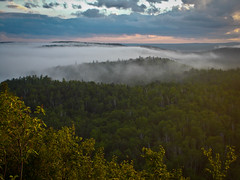 Misty Northern Evening (C. Paris Photography) Tags: statepark camping vacation nature beauty up minnesota forest outdoors woods nikon hiking trail backpacking upnorth mn superiorhikingtrail tettegouchestatepark twinlakesloop