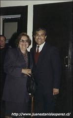 Con la Profesora Viola Soto, Premio Nacional de Educación
