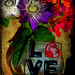 Love passion- flower