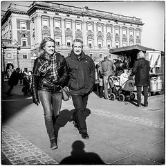 Marching on... (stejo) Tags: street stockholm streetphotography gamlastan parlament riksdagshuset