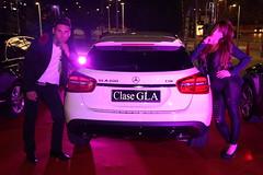 4-Citycar Sur presenta los nuevos Mercedes-Benz Clase C y GLA con la espectacular actuación de Nancys Rubias