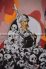 Egypt, Graffiti  (36) (Michel Marcipont) Tags: st wall painting square graffiti place drawing egypt peinture cairo artists revolution michel politique activists mohamed egypte artistes mahmoud tahrir morsi mohamedmahmoudst marcipont 29112013