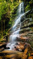 Lawson Waterfall HDR (SydneyLens) Tags: landscape waterfall sydney australia bluemountains falls nsw newsouthwales hdr lawson hdrphotography visitnsw nswgateway