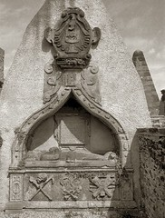 tomb of George Baird