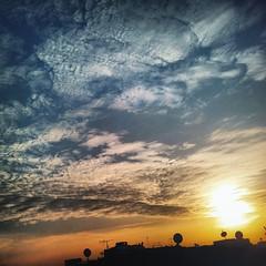 sunset (ayman_ay17) Tags: sunset sun color egypt flickrandroidapp:filter=none