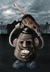 Mr Leatherface Head (torakamikaze) Tags: toy funny texas massacre leatherface chainsaw horror parody potatohead