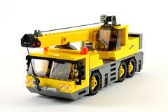 Lego City Crane Mobile Crane Lego Amaryl