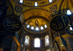 Apse (upper section), Hagia Sophia