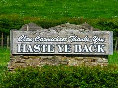 Clan Carmichael Thanks You / HASTE YE BACK (P1060579)
