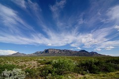 Chisos Mountains at Big Bend National Park