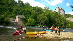 Chteau de Walzin (Red Cathedral uses albums) Tags: summer sun castle river fun island kayak chateau kano dinant kasteel namur namen lesse veves walzin chteaudewalzin dinantvasion