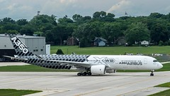 Airbus A350-941 F-WWCF (MIDEXJET (Thank you for over 2 million views!)) Tags: wisconsin unitedstatesofamerica milwaukee airbus mke milwaukeewisconsin a350 generalmitchellinternationalairport kmke fwwcf a350941