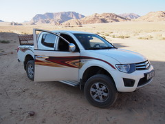 Our 4WD desert car!