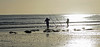 Fishermen silhouettes (Oliver Townsend) Tags: alnmouth beachwalking seaside lumixgh4