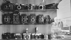 Vintage cameras, not for sale