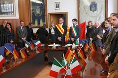 Gründung der Städtepartnerschaft mit Civitella - Besuch in Italien 2011