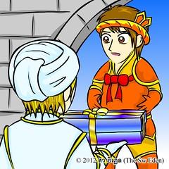 ทักทายกับ 2 อัศวิน (Tuskty & 2 Knights) p.3