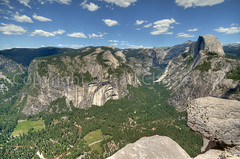View from Glacier point looking to Half Dome and the rest of Yosemite Valley (Carl's Photography) Tags: 2013zionyosemite adobelightroom adobephotoshopcs6 cloudsrest curryvillage gettyartistpickspending glacierpoint hdrcandidates hdrprocessed halfdome leefilters lightroom luminositymask nikond7000 photomatixpro reallyrightstufftripodandballhead sigma1020mmf456exdchsm sigma1020mm yosemitenationalpark bluesky blue d7000 green hdr landscape nikon outdoor processing summer bracket bracketing clouds distance distant hike hiking holiday horizon horizontal inspire inspring majestic pine point precipice sky tree tripod vacation valley view viewpoint california unitedstates f80 1125secatf80 1125sec iso100