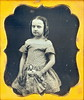 """1/6th Daguerreotype """" Young Girl with Doll"""" (Mirror Image Gallery) Tags:"""