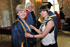 Pro Chancellor Gowning (University of Hull) Tags: education graduation ceremony scarborough hull graduate he degree eastyorkshire ey graduand universityofhull hulluniphoto