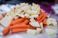 Carrots and potatoes - great camp food (m01229) Tags: camping food dinner potatoes unitedstates jackson carrots wyoming tinfoil d7000