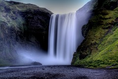 Skógafoss Iceland (PeskyMesky) Tags: longexposure waterfall iceland reykjavik skógafoss mygearandme mygearandmepremium mygearandmebronze mygearandmesilver mygearandmegold mygearandmeplatinum mygearandmediamond