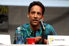 Danny Pudi (Gage Skidmore) Tags: california brown dan nicole community san comic ken diego jim center international convention danny jacobs gillian yvette brie alison con rash harmon mckenna chri jeong pudi 2013