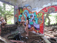 oera best day ever to go back and finish! (wilderbeaster) Tags: hot graffiti hawaii fuck oahu yes painted north posing front bikini thongs shore chicks honolulu piece freshly