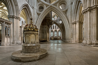 Wells Cathedral Font