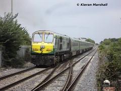 217 departs Portlaoise, 24/8/13 (hurricanemk1c) Tags: irish train gm rail railway trains railways irishrail 201 217 generalmotors portlaoise emd iarnród 2013 éireann iarnródéireann 1320corkheuston