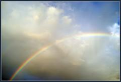 RAINBOW OVER MUMBAI (indianature13) Tags: sky india nature rainbow monsoon bombay maharashtra mumbai monsoons naturalphenomenon 2013 indianature indradhanush