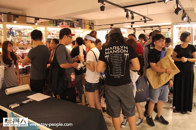 Rockin' Jelly Bean 2013 台灣巡迴展 & 簽名會 現場報導