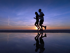 Sun Runners - EXPLORED! Thank You :-) (Fotomondeo) Tags: morning sea sky españa mañana beach valencia silhouette clouds sunrise reflections contraluz mar spain playa alicante amanecer cielo nubes silueta reflejos lx7 playadesanjuan lumixlx7 panasoniclumixlx7