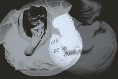 I can be an angel (deiafonseca) Tags: selfportrait angel autoretrato