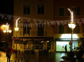 Tournon-sur-Rhône (07), illuminations 2008