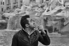 Rome (Domenico Petrellese) Tags: blackandwhite italy rome roma la grande italia dolce biancoenero vita bellezza 2013 canon7d