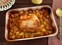 Pork loin with chestnuts in the oven - Food From Portugal (Food From Portugal) Tags: food portugal comida pork loin porco castanhas lombo chestunts