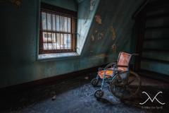 Hudson River State Hospital (Michael Ver Sprill) Tags: ny newyork abandoned urbandecay wheelchair haunted creepy explore urbanexploration hdr highdynamicrange mv ue secluded insaneasylum urbex hudsonvalley hudsonriverstatehospital mentalfacility photomatix5 michaelversprill mikeversprill urbextreme rsadark