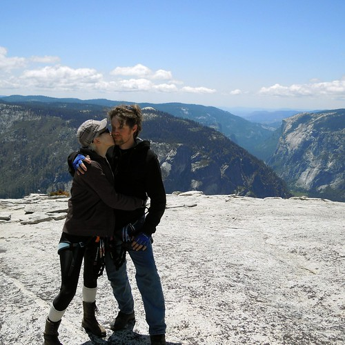 Hiking (and Climbing) Half Dome: Yay!