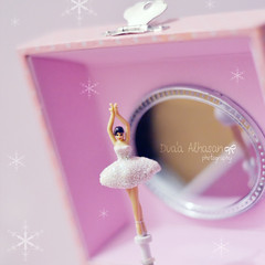 The Ballerina (Miss.Dua'a) Tags: pink ballet cute dance ballerina antique pastel dancer kawaii lovely musicbox  girlystuff   balletdancer
