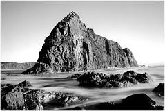 Lion Rock B + W (Trains In Tasmania) Tags: longexposure sea bw rocks australia scenary tasmania lionrock southcapebay neutraldensityfilter bwnd30 bw30nd canoneos550d trainsintasmania tasmanianscenary stevebromley tasmaniancoastalscenary