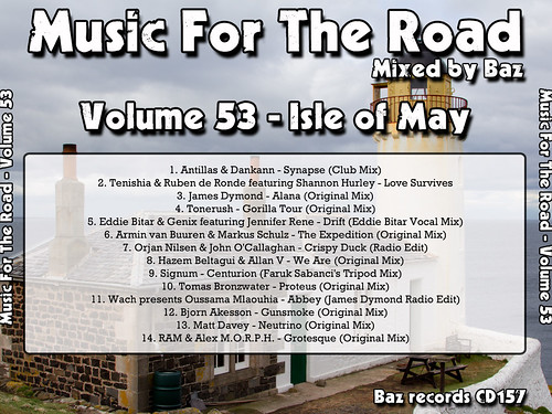 2013-05 (Music For The Road Volume 53 - Isle Of May) - Rear Cover
