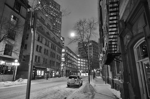 Albert St, Winter