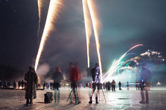 New Year's Eve (laurenlemon) Tags: california fireworks nye explosion newyears sierranevadas frozenlake 2014 icelakes sodasprings serenelakes laurenrandolph laurenlemon wwwphotolaurencom